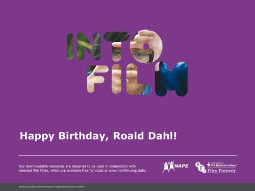 Roald Dahl Day assembly