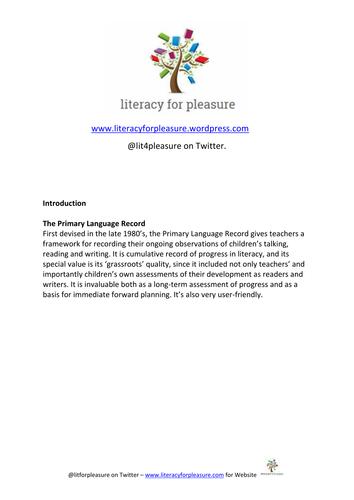 The Primary Language Record