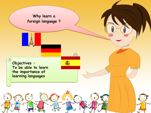 Why Learn a foreign language - Presentation Assembly