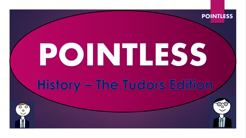Pointless - History - The Tudors Edition
