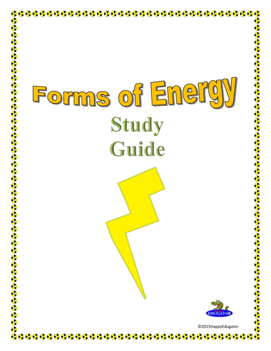 Energy Test Study Guide - Anderson School District Five