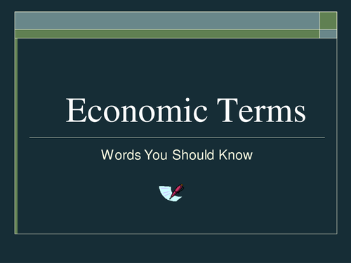 economic terms Assets things that have earning power or some other value to their owner fixed assets (also known as long-term assets) are things that have a useful life of more than one year, for example buildings and machinery there are also intangible fixed assets, like the good reputation of a company or brand.