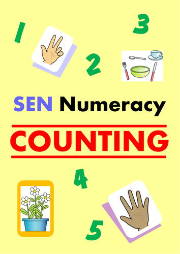 SEN Numeracy - COUNTING