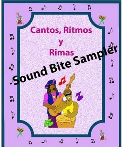 Cantos, Spanish Rap-like Musical Chants Sound Bite Sampler