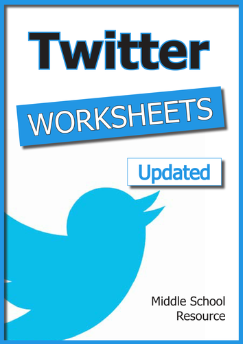 Twitter Worksheets by malcomb - Teaching Resources - Tes