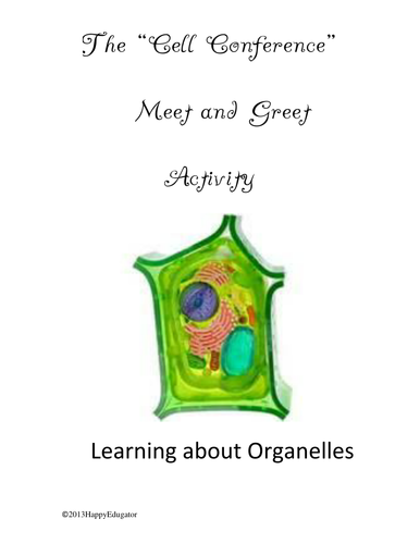 Organelles Activity Cell Structure Information Exchange