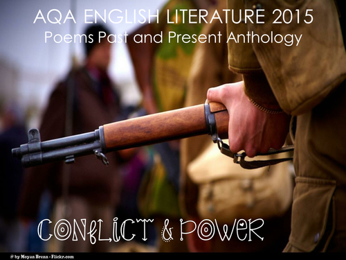 AQA Literature New Spec 2015- Conflict and Power Poetry Cluster
