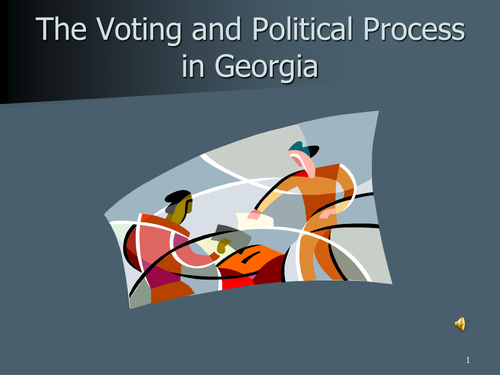 Voting and Political Process in Georgia PowerPoint