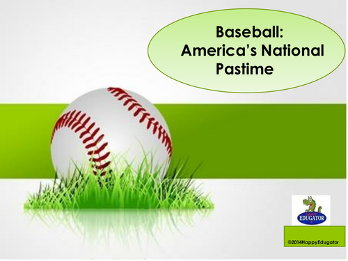 Baseball History PowerPoint