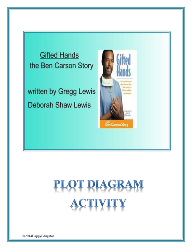 Gifted hands the ben carson story plot diagram activity by gifted hands the ben carson story plot diagram activity by happyedugator teaching resources tes ccuart Images
