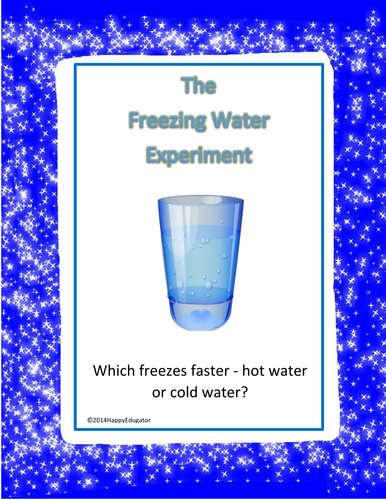 ICE The Freezing Water Experiment