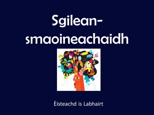 Sgilean-smaoineachaidh powerpoint - Èisteachd is labhairt