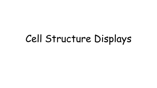 OCR 2.1.1 Cell Structure and Oragnelle Function