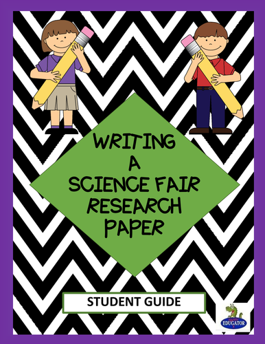 outline of science fair research paper