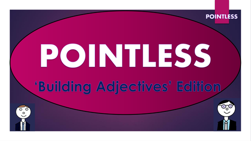Pointless Bundle - All of the games and template to create your own!