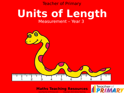 Units of Length - Year 3 - PowerPoint presentation and worksheets ...