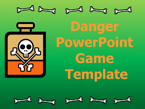 Danger PowerPoint Game Template
