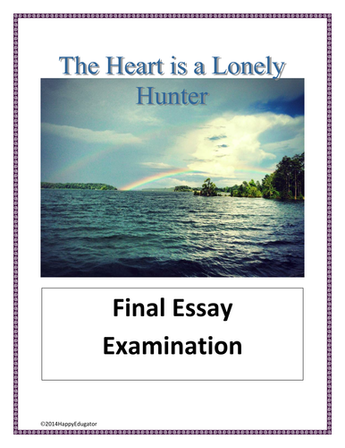 High School And College Essay The Heart Is A Lonely Hunter Final Test  Essay Examination By  Happyedugator  Teaching Resources  Tes National Honor Society High School Essay also Example Of Essay Proposal The Heart Is A Lonely Hunter Final Test  Essay Examination By  College Assignment Help Writing