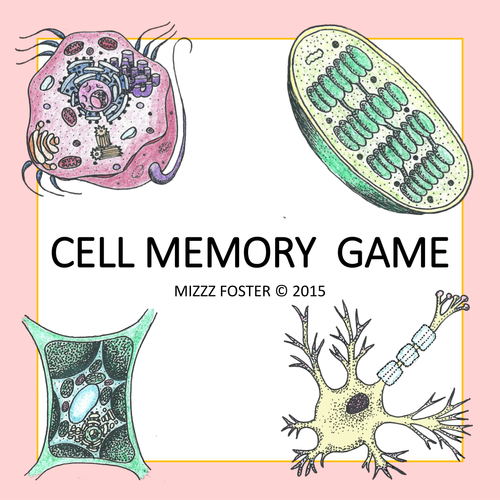 Cell Memory Game Color
