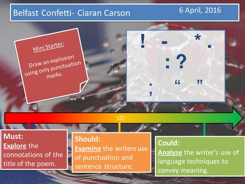 Belfast Confetti- Carson