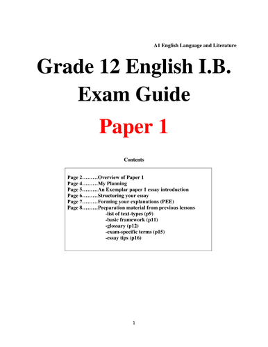 for my grandmother knitting essay by lucaay teaching ib english language and literature paper 1 revision pack