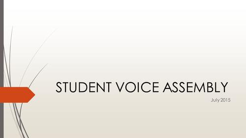 Malala - Student Voice assembly