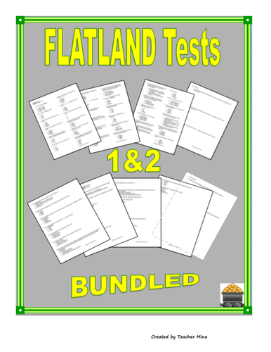 Flatland Tests 1 & 2 Bundled