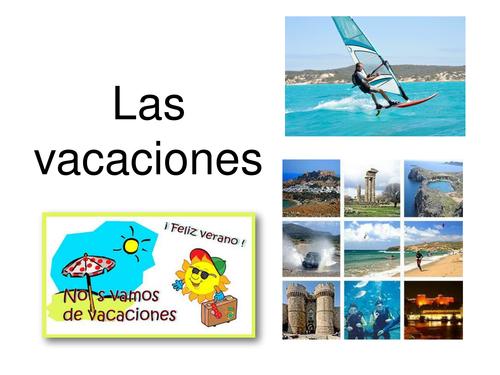 Asi 2 De vacaciones Activities with HACER