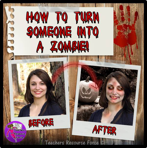Halloween Fun: how to turn someone into a zombie in Photoshop!