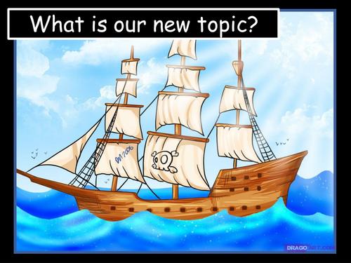 Pirates (5 lessons) Punishments, Tactics, Rules, Blackbeard
