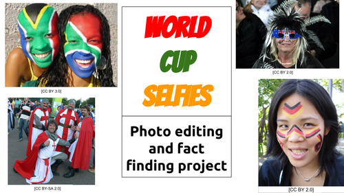 Rugby World Cup Selfies: Photo editing and fact finding project