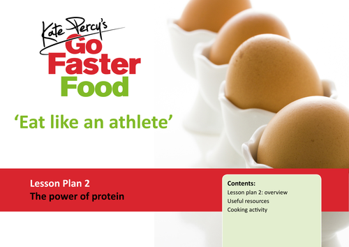 Eat Like An Athlete Lesson Plan - The Power Of Protein