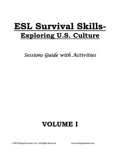 ESL Survival Skills: Exploring US Culture