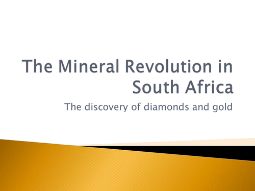 Life on the Mines in South Africa