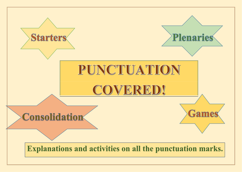 Punctuation Covered!