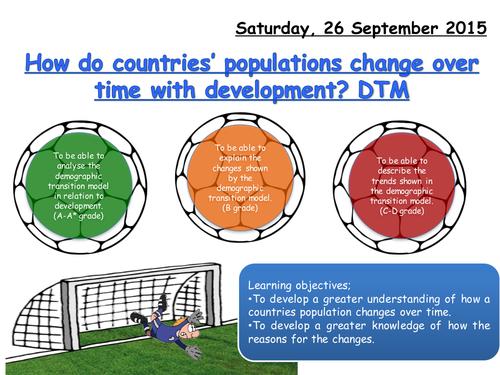 Lesson 3- DTM (demographic transition model)