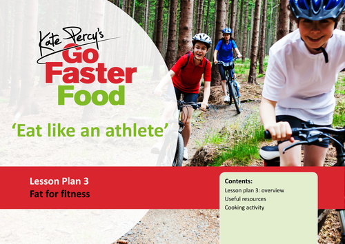 Eat Like An Athlete Lesson Plan - Fat For Fitness