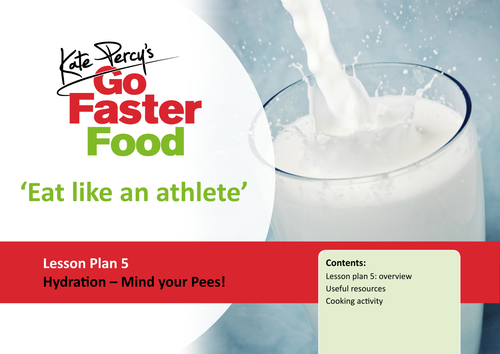 Eat Like An Athlete Lesson Plan - Hydration - Mind Your Pees!