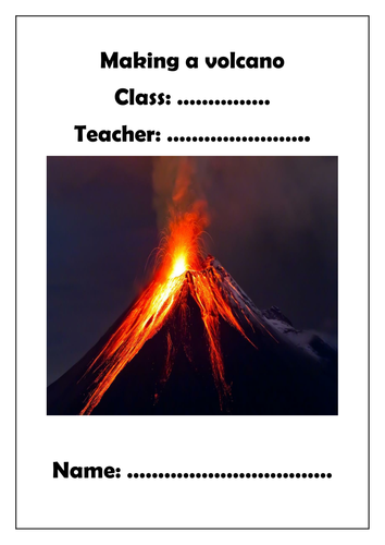 Making a Volcano project