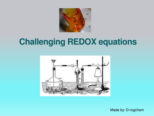 Chemistry: balancing difficult REDOX equations