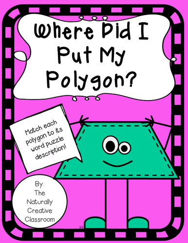 Where Did I Put My Polygon?  A Shape Match Activity