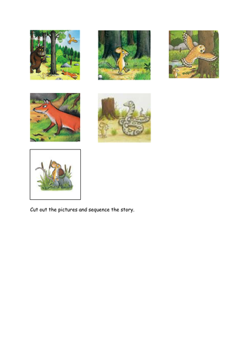 The Gruffalo Activity Booklet By Kayld Teaching Resources Tes