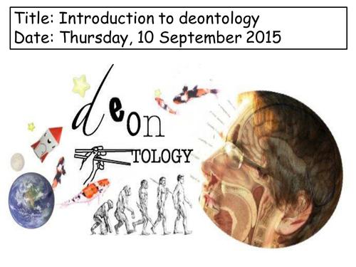 Deontology- Whole A-Level course