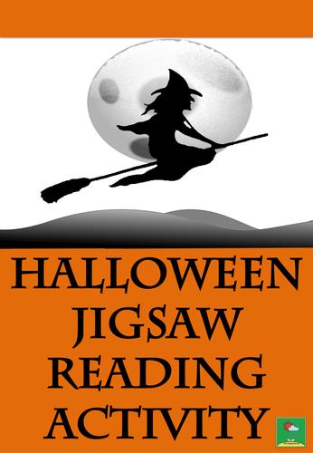 Halloween Jigsaw Reading Activity