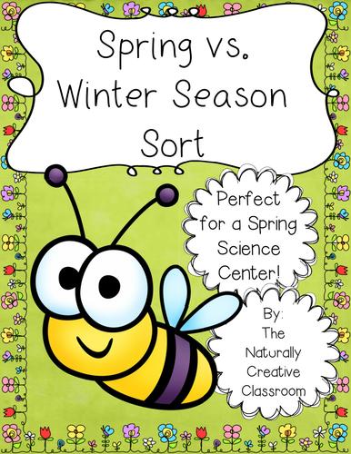 Spring Vs. Winter Season Sort