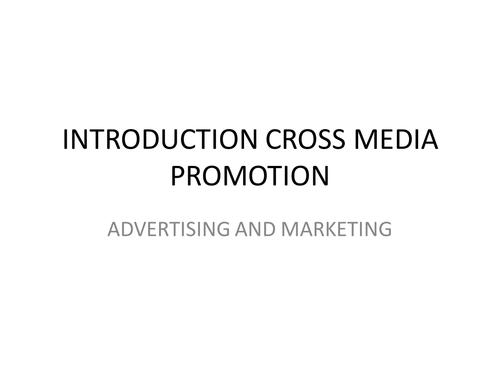 AQA ASSIGNMENT 2 CROSS MEDIA STUDY ADVERTISING & MARKETING