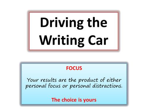 The Writing Car