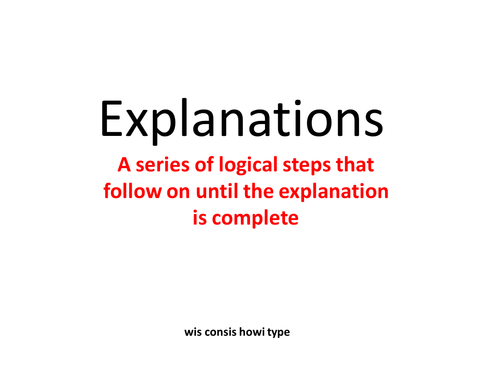 Easy Explanations!