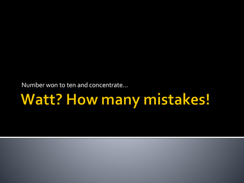 Useful starter: Images of real life literacy mistakes - for students to spot - SPaG alert!