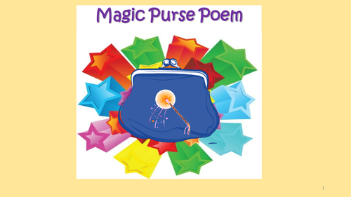 List Poetry - My Magic Purse